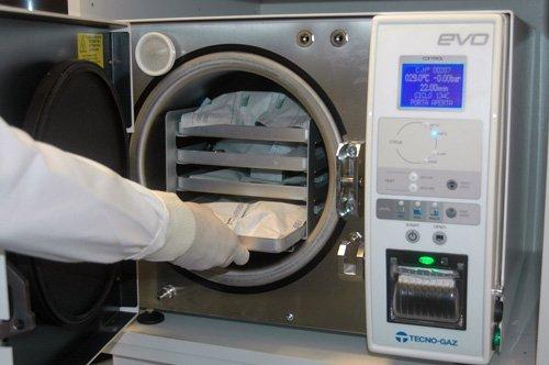 Sterilizzazione degli strumenti 1