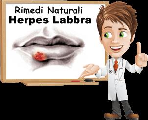 HERPES ORALE SINTOMI E CURA 2