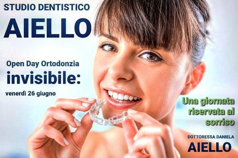 Open day Ortodonzia invisibile studio dentistico aiello-dottoressa-daniela-aiello